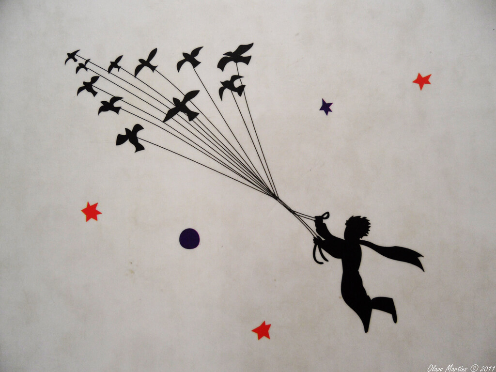 Le Petit Prince, par Olavo Martins (Creative Commons by-nc-sa)