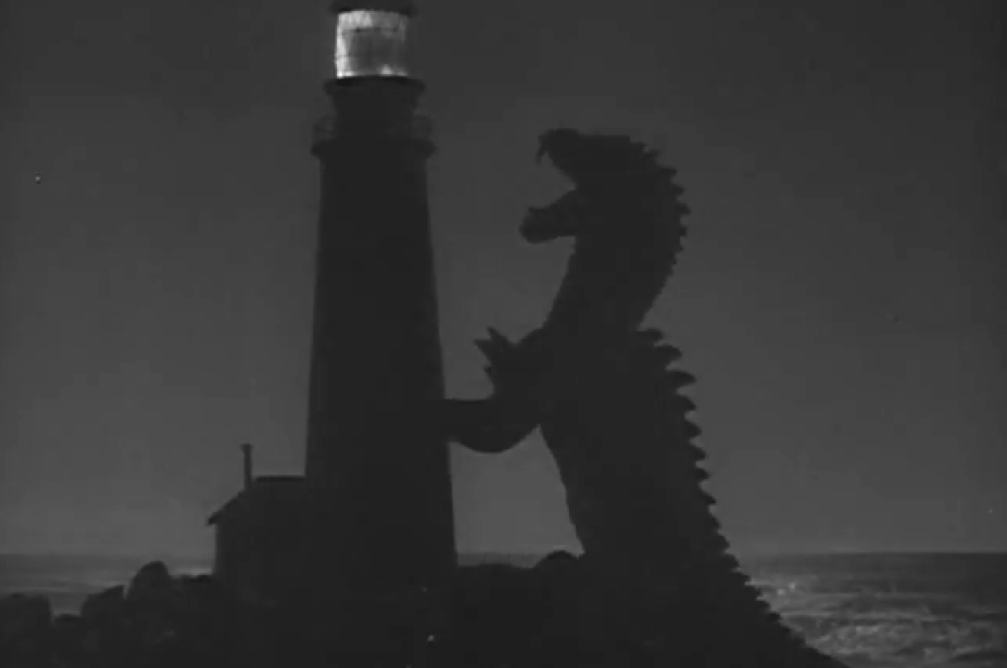 TheBeastFrom20000Fathoms_WarnerBros._Trailer_PublicDomain_RhedosaurusLighthouse
