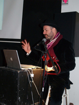 January 27:: Kenneth Goldsmith by UNIONDOCS on flickr