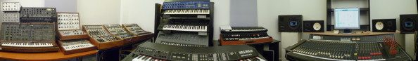 Panorama du studio analogique de la Muse en circuit